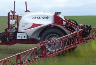 Farm Gem trailed crop sprayer