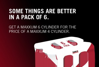 Maxxum 6 cylinders for 4