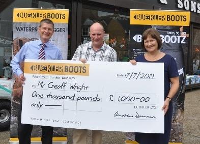 Buckler Boots £1000 Winner