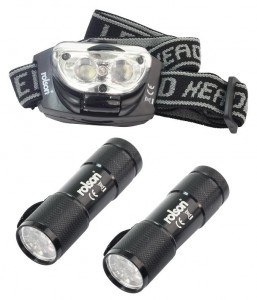 Rolson-2-Peice-LED-torch-headlight-kit