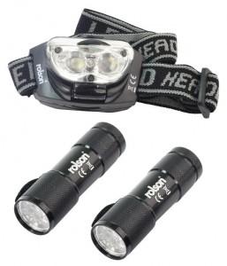 Rolson-2-Peice-LED-torch-headlight-kit
