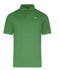 barbour green polo shirt