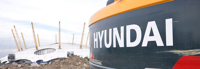 Hyundai Dealers for construction machinery