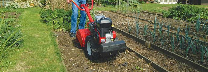 Petrol tillers, rotavators and garden cultivators