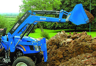 Lewis front loaders and backhoes - Groundcare