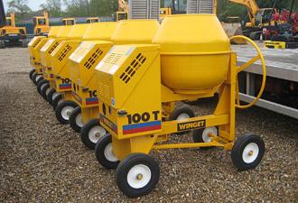 Winget concrete mixers - Construction equipment dealers