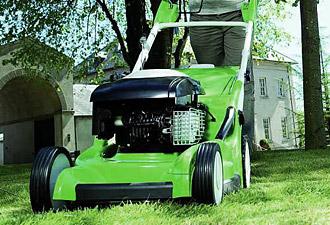 Viking petrol lawn mowers