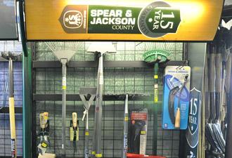 Spear and Jackson Garden Tools range