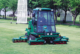 Local Authority amenity work - Ransomes Jacobsen turf care machinery
