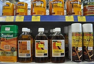 Wood preservatives selection
