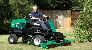 Ransomes Highway mower