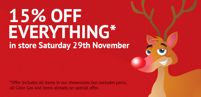 15% OFF everything - Terms apply