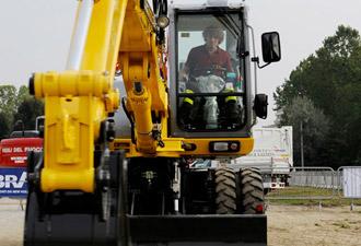 Wheeled excavators - New Holland - Construction